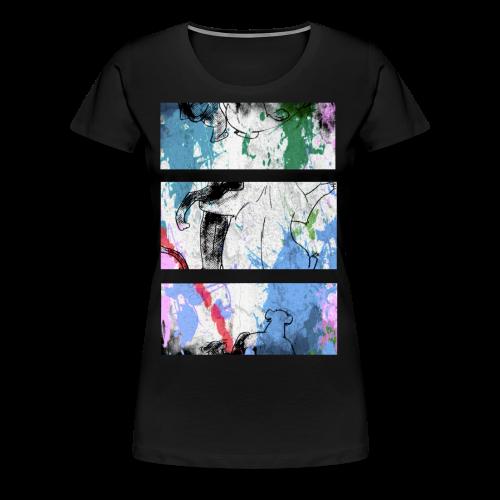 Buddies - Frauen Premium T-Shirt