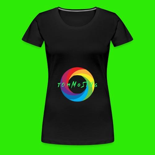 Hauptlogo tOmMoSiUs - Frauen Premium T-Shirt