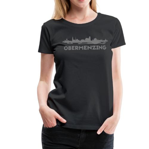 Obermenzing Skyline (Modern) - Frauen Premium T-Shirt