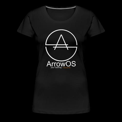 ArrowOS - Frauen Premium T-Shirt