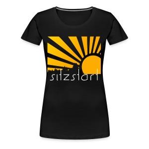 sun everywhere - Frauen Premium T-Shirt