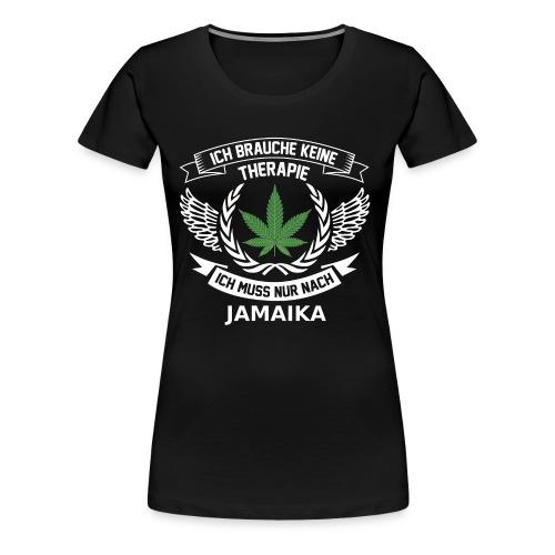 Jamaica Hanfblatt T-Shirt Urlaub - Frauen Premium T-Shirt