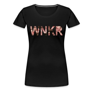 flowersWNKR - Vrouwen Premium T-shirt