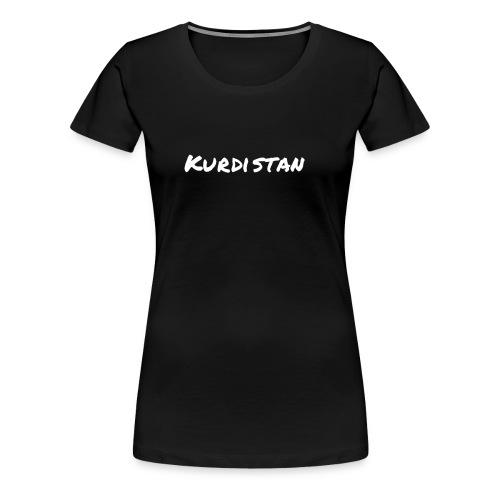 Kurdistan Bekleidung - Frauen Premium T-Shirt