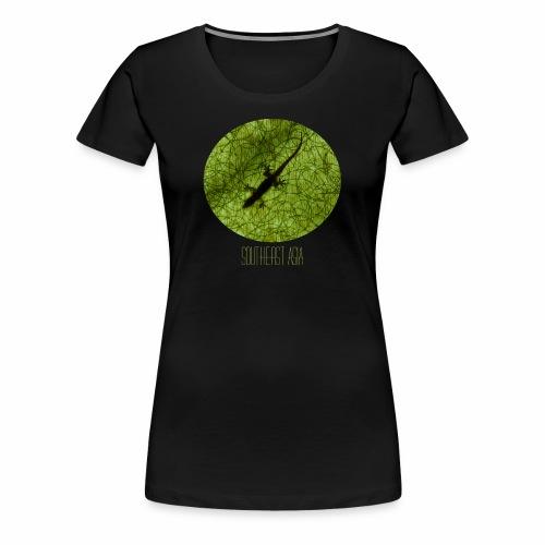south east asia gecko - Frauen Premium T-Shirt