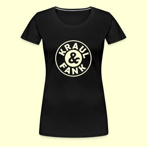 Kraul & Fank transparent - Frauen Premium T-Shirt