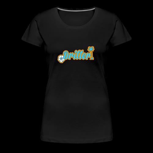 Dritter Full Logo - Frauen Premium T-Shirt