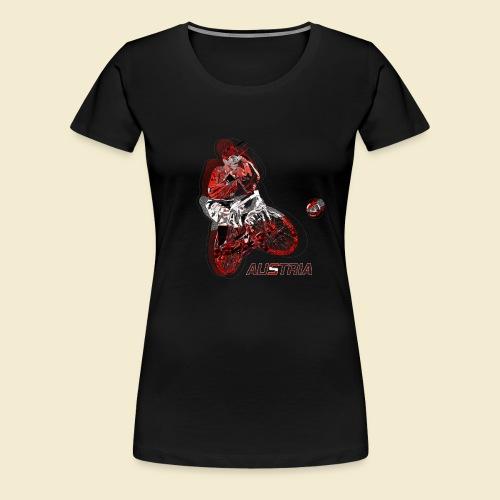 Radball | Austria - Frauen Premium T-Shirt