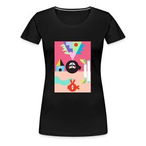 Sun and Moon - Women's Premium T-Shirt