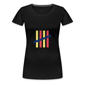 couleurs - T-shirt Premium Femme