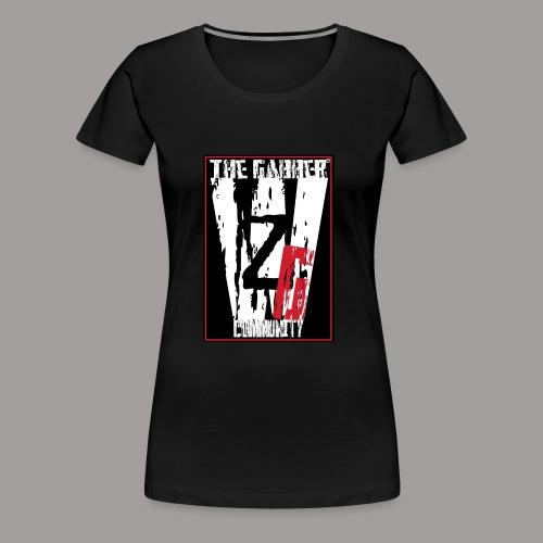 Wij zijn Gabbers label2 - Frauen Premium T-Shirt