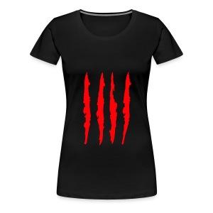 senyera griffes rouge - T-shirt Premium Femme