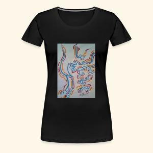 La main au Q. - T-shirt Premium Femme