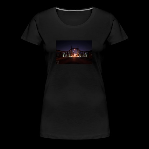 Brücke in Ulm - Frauen Premium T-Shirt