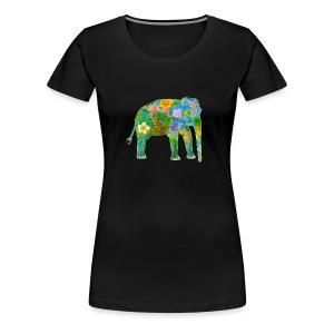 Asiatischer Elefant - Frauen Premium T-Shirt