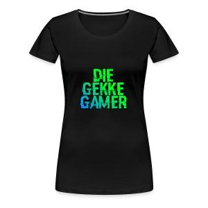 DieGekkeGamer. - Vrouwen Premium T-shirt
