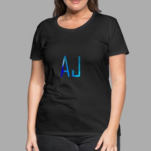 AJ No Background - Women's Premium T-Shirt