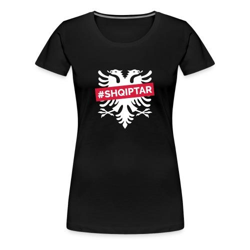 Shqiptar Shqiponja Motiv - Frauen Premium T-Shirt