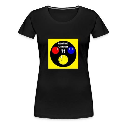 Running Circles - Vrouwen Premium T-shirt