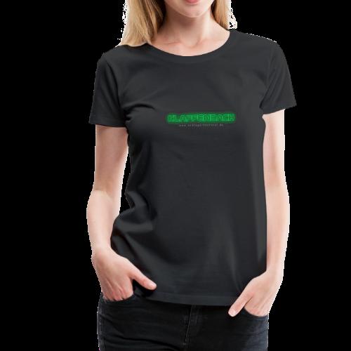 Klaffenbach (Neon) - Frauen Premium T-Shirt