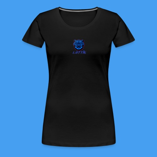 Lotties Blue Tiger Drop! - Women's Premium T-Shirt