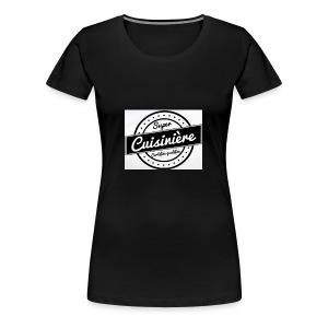 20EE8101 3C28 48CB ACE1 ECBB148F495E - T-shirt Premium Femme