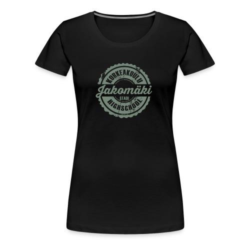 77V-JAKOMÄEN KORKEAKOULU - Stadi, Helsinki - Naisten premium t-paita