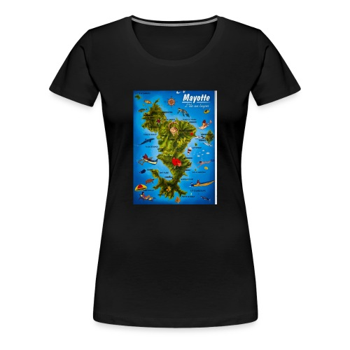 mayotte styl's - T-shirt Premium Femme