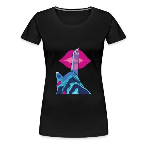 JustLov t-shit - Kiss - Maglietta Premium da donna