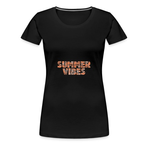 SUMMER VIBES - Frauen Premium T-Shirt