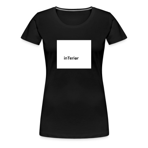 inTerior - Koszulka damska Premium
