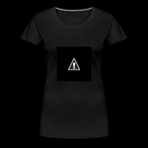 !warning! - Frauen Premium T-Shirt