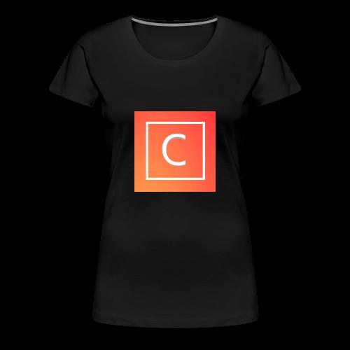 Logo [FIRST DESIGN!!!] - Women's Premium T-Shirt