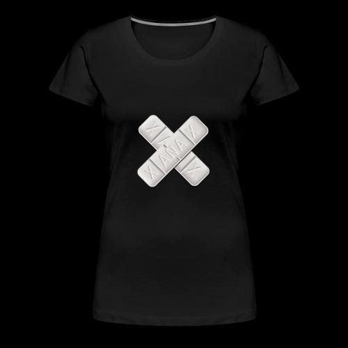 Xanax X Logo - Frauen Premium T-Shirt