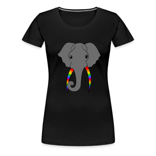 Pride Elephant - Women's Premium T-Shirt