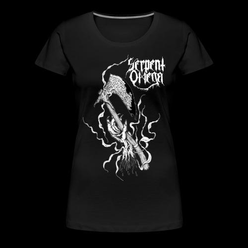 SERPENT OMEGA- Axehand - Premium-T-shirt dam