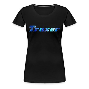Truxer Name with Sick Blue - Women's Premium T-Shirt