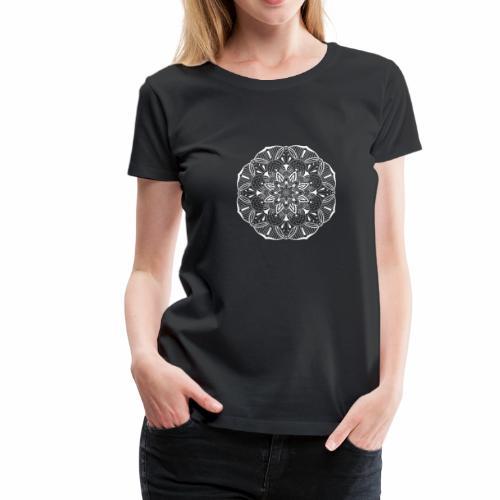 Meditation 2 Mandala Spirituell henna yoga chakra - Frauen Premium T-Shirt