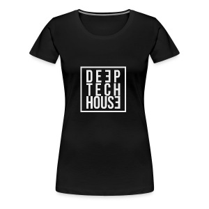 Deep Tech House by HouseMixRoom RadioShow - Camiseta premium mujer
