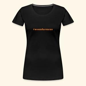 wanderness_orange - Frauen Premium T-Shirt