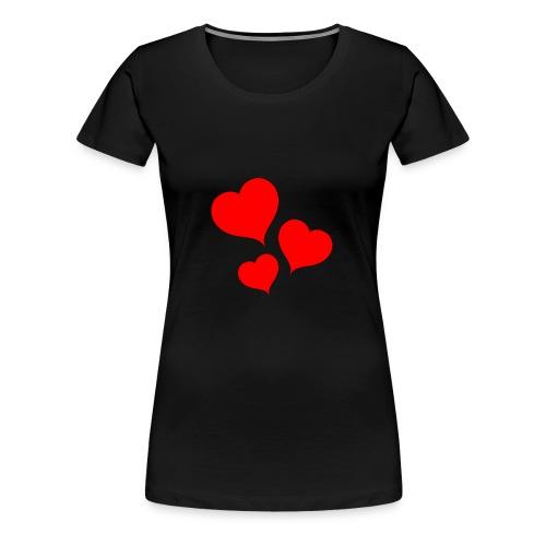 MIŁOŚĆ - Koszulka damska Premium