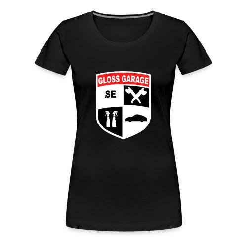 Glossgarage - Premium-T-shirt dam