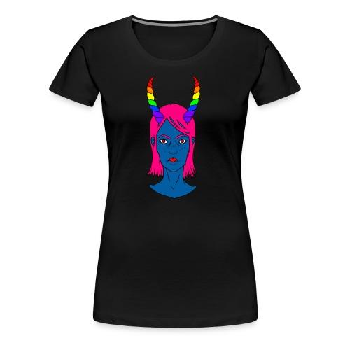 THEGirl#2 - Frauen Premium T-Shirt