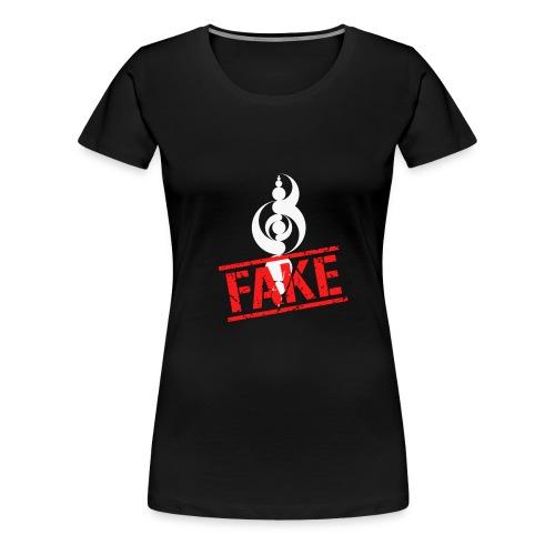 Crop Circle de Sarraltroff : FAKE - T-shirt Premium Femme