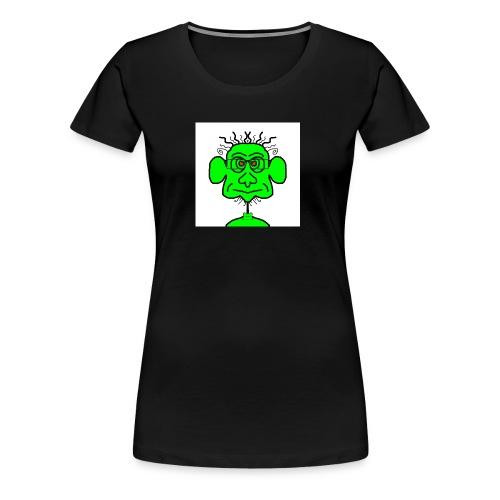 groene potje - Vrouwen Premium T-shirt