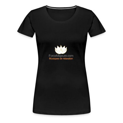 gros logo pour t shirt - T-shirt Premium Femme