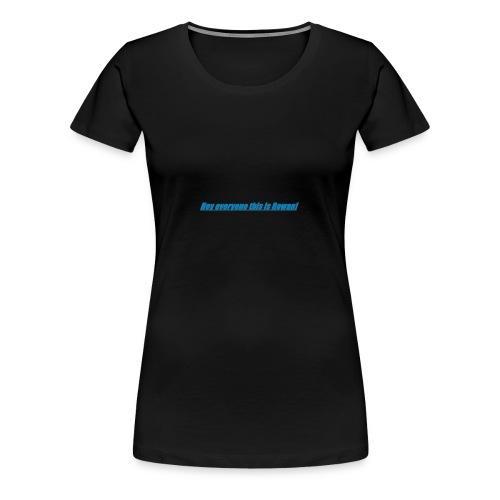 Rowan's intro!!1 - Women's Premium T-Shirt