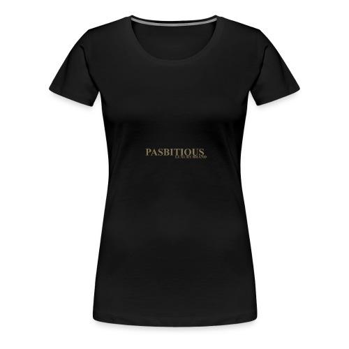 Pasbitious - Maglietta Premium da donna