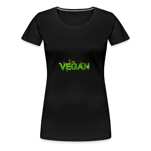 vegan 1091086 1920 - Frauen Premium T-Shirt
