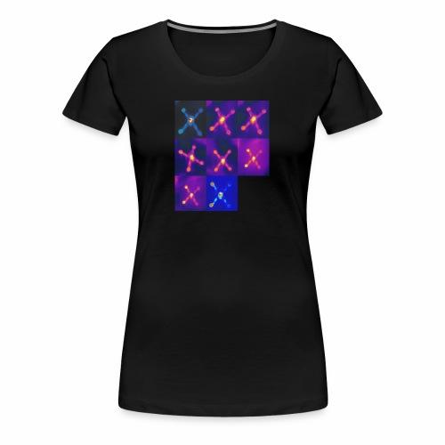 heatmap - Frauen Premium T-Shirt